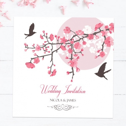 Blossoming Love - Wedding Invitations