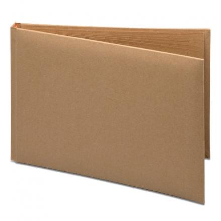 Plain-DIY-Brown-Kraft-Wedding-Guest-Book