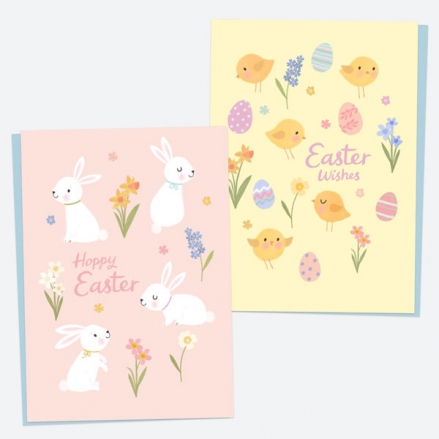 bunnies-chicks-easter-cards-mixed-pack