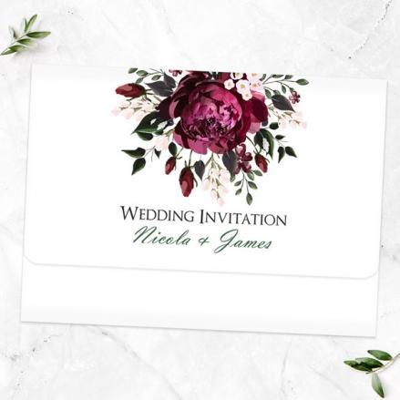 Burgundy-Peony-Bouquet-Tri-Fold-Wedding-Invitation-&-RSVP