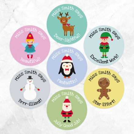 Candy-Cane-Christmas-Teacher-Stickers-Pack-of-35
