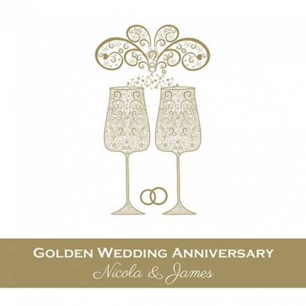 50th Wedding Anniversary Invitations - Celebrate With Us