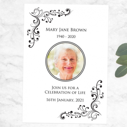 funeral-celebration-life-invitations-elegant-scrolls-photo