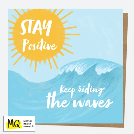 charity-card-paper-hug-waves-stay-positive
