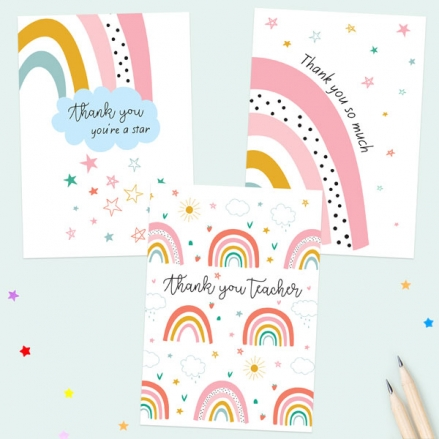chasing-rainbows-teacher-thank-you-cards-mixed