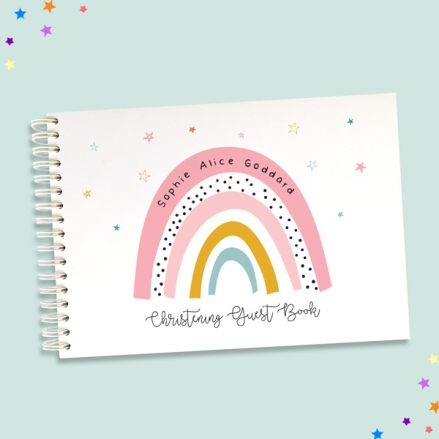 Chasing-Rainbows-Christening-Guest-Book