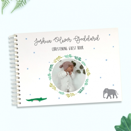 Boys-Go-Wild-Christening-Guest-Book-Use-Your-Own-Photo