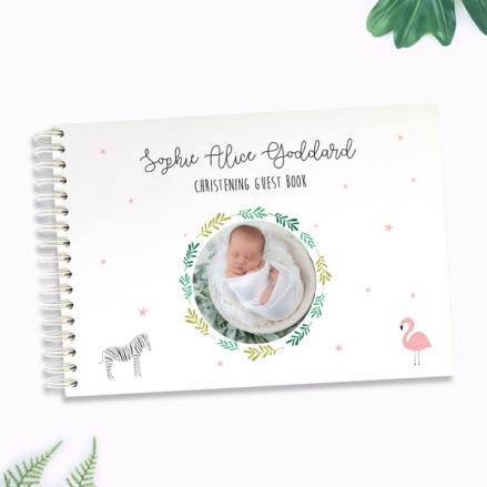 girls-go-wild-christening-guest-book-photo