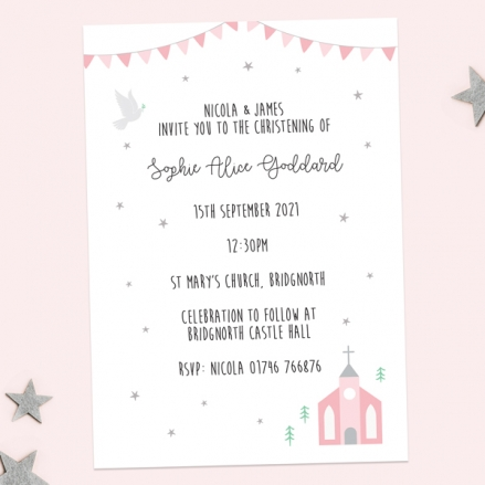 Christening-Invitations-Cute-Pink-Church