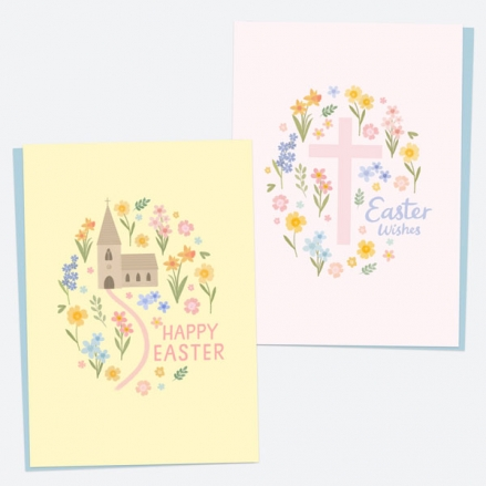 church-cross-easter-cards-mixed-pack