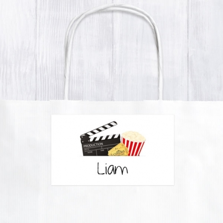 Cinema Party - Party Bag & Sticker - Pack of 10