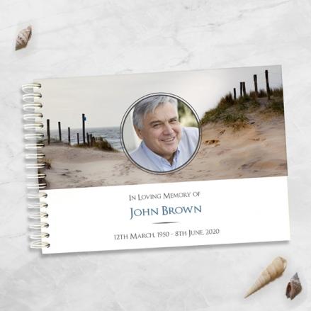 Beach-Path-Photo-Condolence-Guest-Book
