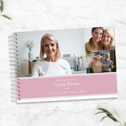 Female-Modern-Photo-Collage-Condolence-Guest-Book