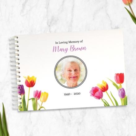 Bright-Tulips-Photo-Condolence-Guest-Book