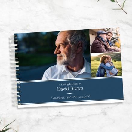 Male-Modern-Photo-Collage-Condolence-Guest-Book