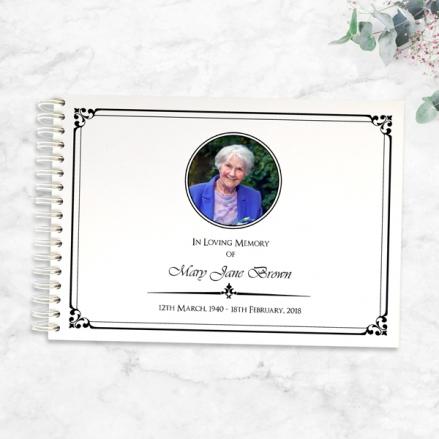Ornate-Border-Condolence-Guest-Book