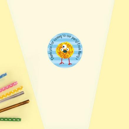 Cute Monsters - Sweet Cone Bag & Sticker - Pack of 35