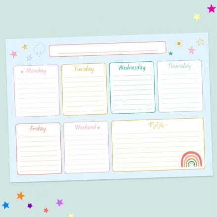 Chasing-Rainbows-Kids-Homework-Planner