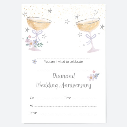 60th-wedding-anniversary-invitations-champagne-bubbles-thumbnail