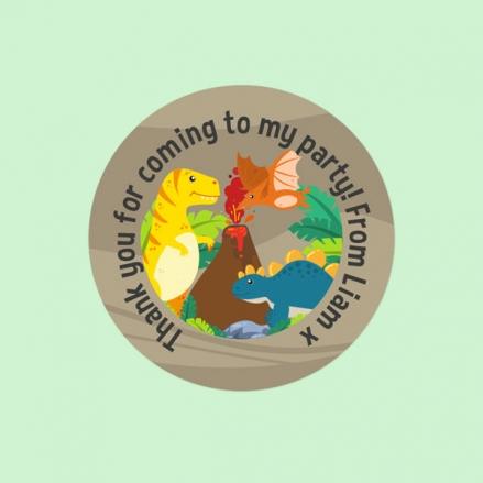 Dinosaur World - Sweet Bag Stickers - Pack of 35