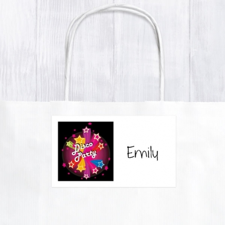 Disco Stars - Party Bag & Sticker - Pack of 10