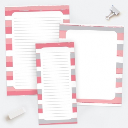 Earn Your Stripes - Notepads - Pack of 3