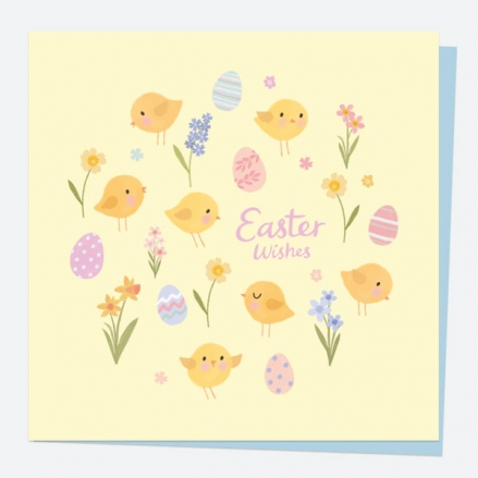 easter-card-yellow-chicks