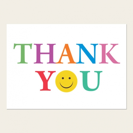 Ready to Write Thank You Cards - Emoji