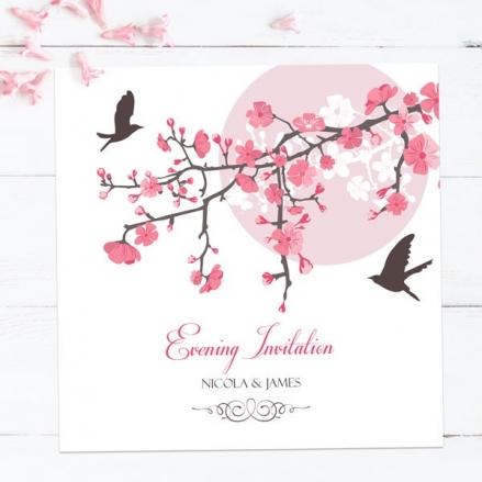 Blossoming Love - Evening Invitations