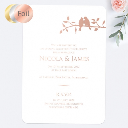 Country-Love-Birds-Foil-Evening-Invitations