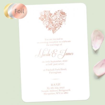 Ornate-Heart-Foil-Evening-Invitations