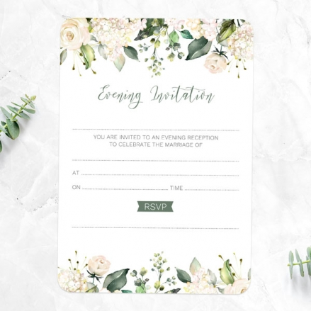 white-flower-garland-ready-to-write-evening-invitations