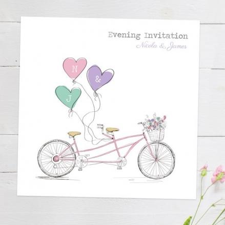 Tandem Love - Evening Invitations