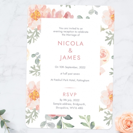 Coral-Watercolour-Flowers-Evening-Invitations