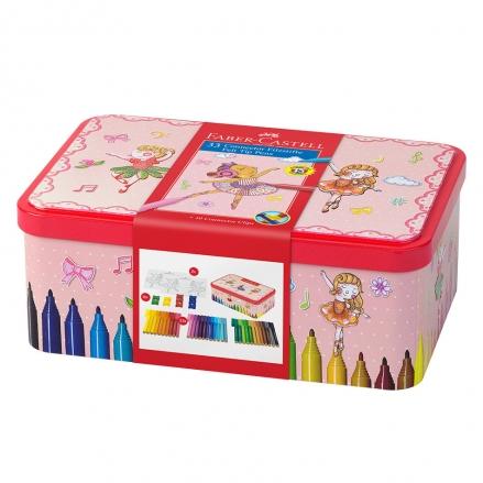 Faber-Castell Connector Pen Ballerina Box of 33