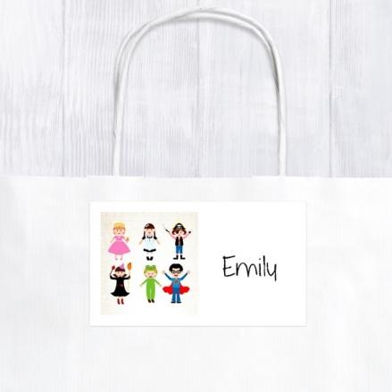 Fancy Dress - Party Bag & Sticker - Pack of 10