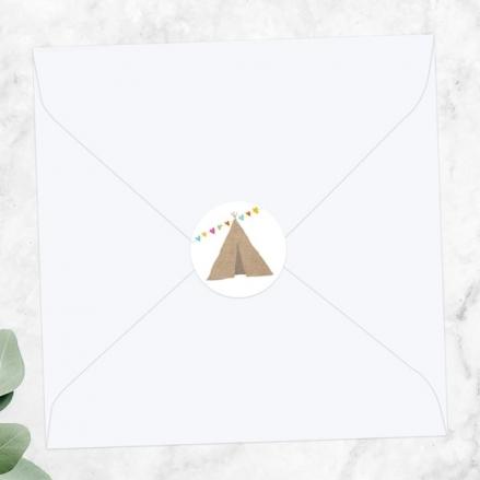 Festival Tipi - Wedding Envelope Seals