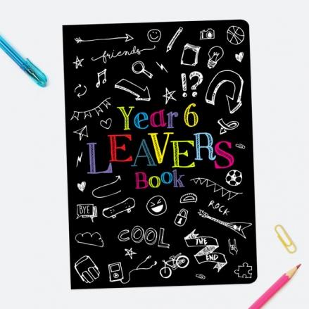 Fun Doodles - Year 6 - A5 School Leavers Book