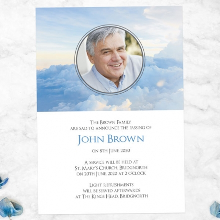 Funeral-Announcement-Cards-Above-the-Clouds