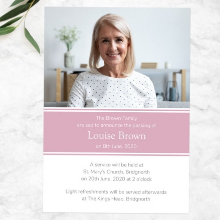 funeral-announcement-cards-Female-Modern-Photo-Collage