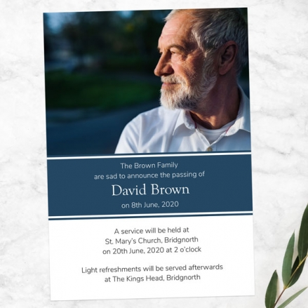 funeral-announcement-cards-Male-Modern-Photo-Collage