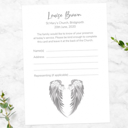 funeral-attendance-cards-angel-wings