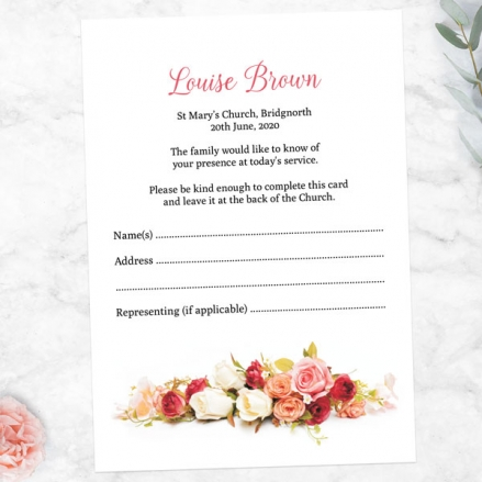 Funeral-Attendance-Cards-Classic-Roses-Photo