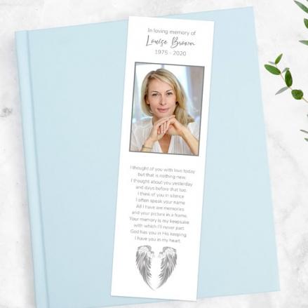 funeral-bookmark-angel-wings