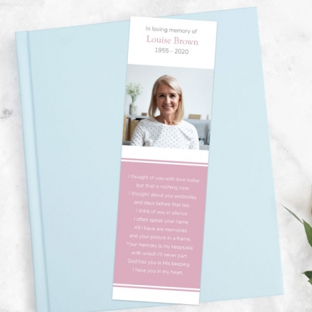 funeral-bookmark-Female-Modern-Photo-Collage