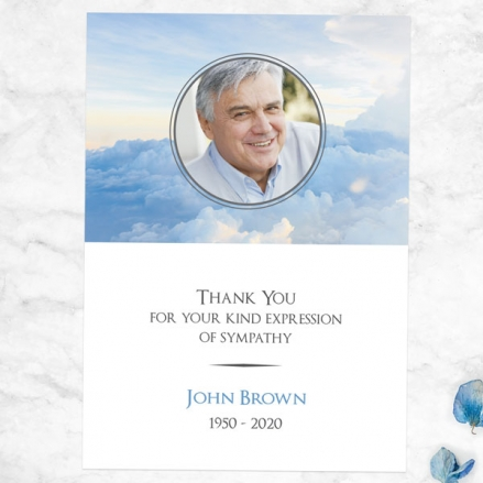 Funeral-Thank-You-Cards-Above-the-Clouds