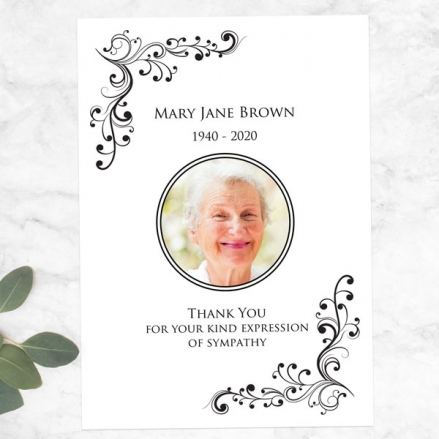 Funeral-Thank-You-Cards-Elegant-Scrolls-Photo