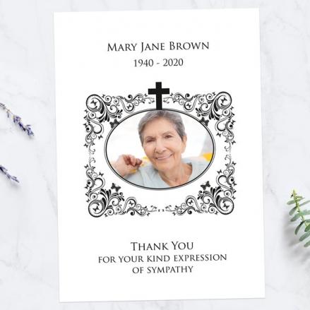 Funeral-Thank-You-Cards-Ornate-Scrolls-&-Butterflies