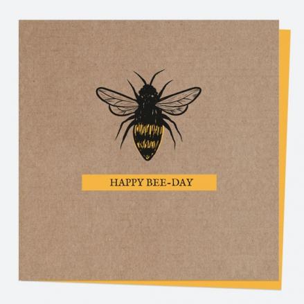 General Birthday Card - Bug Love - Bee - Happy Beeday
