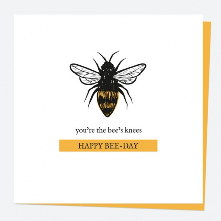 general-birthday-card-bug-love-bee-youre-the-bees-knees